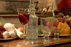 Restaurante espanhol ainda com Sangria Imagem de Stock Royalty Free