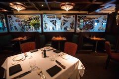 Restaurante exclusivo Imagenes de archivo
