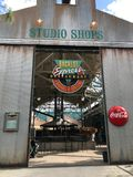 Restaurante expresso de Backlot Estúdios de Hollywood, Orlando fotos de stock royalty free