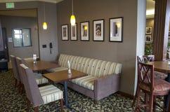 Restaurante expresso de Holiday Inn fotografia de stock royalty free
