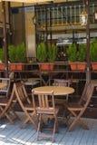 Restaurante exterior Fotos de archivo libres de regalías