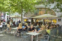 Restaurante exterior de Mc Donalds Imagens de Stock