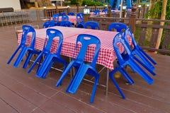 Restaurante fechado Foto de Stock Royalty Free