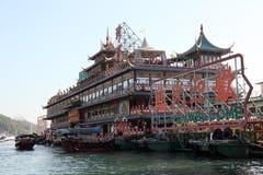 Restaurante flotante enorme Foto de archivo
