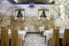 Restaurante georgiano foto de archivo libre de regalías
