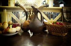 Restaurante georgiano fotografía de archivo
