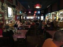 Restaurante grande da pizza dos Eds foto de stock royalty free