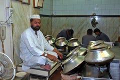 Restaurante indio Fotografía de archivo