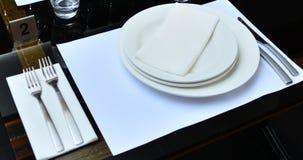 Restaurante indio interior foto de archivo