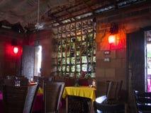 Restaurante interior Cabo San Lucas imagenes de archivo