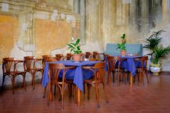 Restaurante italiano Foto de Stock Royalty Free