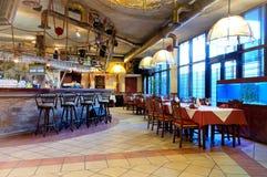 Restaurante italiano imagens de stock royalty free