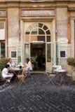 Restaurante italiano foto de stock