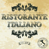 Restaurante italiano Libre Illustration