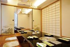 Restaurante japonés Imágenes de archivo libres de regalías