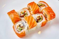 Restaurante japonês do alimento foto de stock