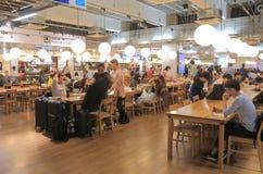 Restaurante japonês Japão da praça da alimentação Imagens de Stock Royalty Free