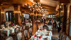 Restaurante Kruje de KROI imagens de stock royalty free