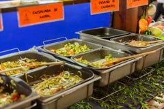 Restaurante La Choza del Cozinheiro chefe em Oaxaca Fotos de Stock