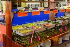 Restaurante La Choza del Cozinheiro chefe em Oaxaca Foto de Stock