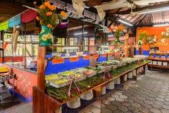 Restaurante La Choza del Cozinheiro chefe em Oaxaca Imagem de Stock