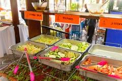 Restaurante La Choza del Cozinheiro chefe em Oaxaca Fotografia de Stock Royalty Free
