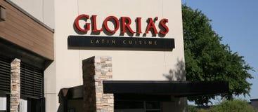 Restaurante latino de la cocina del ` s de Gloria, Dallas Texas Foto de archivo libre de regalías