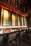 Restaurante listo Imágenes de archivo libres de regalías
