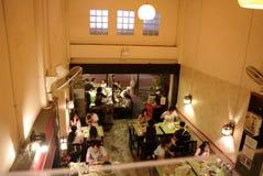 Restaurante local en Asia fotografía de archivo