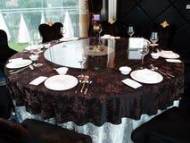 Restaurante luxuoso Fotografia de Stock