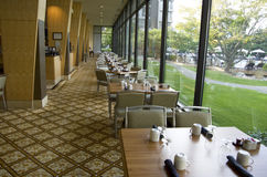 Restaurante luxuoso imagem de stock