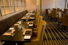 Restaurante luxuoso da barra Imagens de Stock
