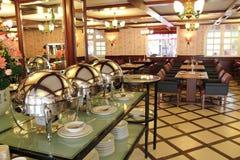 Restaurante luxuoso do bufete Fotografia de Stock Royalty Free