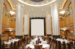 Restaurante luxuoso vazio Imagens de Stock
