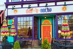 Restaurante mexicano Imagen de archivo libre de regalías