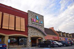 Restaurante mexicano de Tekila, Cordova, Tennessee imagem de stock royalty free