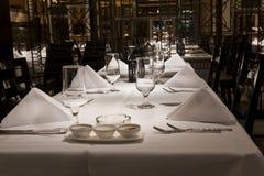 Restaurante moderno Fotografía de archivo libre de regalías