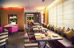 Restaurante moderno Fotografía de archivo