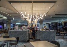 Restaurante moderno no shopping de MBK foto de stock royalty free
