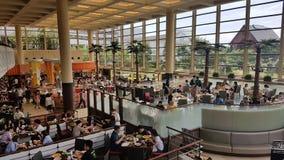 Restaurante na baía grandioso de tokyo do sheraton Foto de Stock Royalty Free