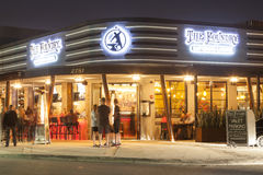 Restaurante na praia da palombeta, Florida Fotos de Stock Royalty Free
