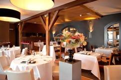 Restaurante no estilo clássico foto de stock