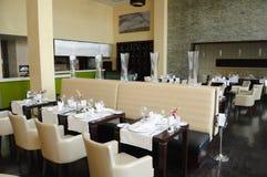 Restaurante no hotel de luxo Fotos de Stock