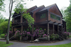 Restaurante no parque estadual com fome da mãe - Marion, Virgínia, EUA Imagem de Stock Royalty Free