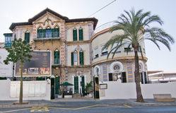 Restaurante Paradiso building exterior Royalty Free Stock Images