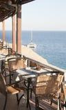 Restaurante perto do Mar Vermelho Fotografia de Stock Royalty Free