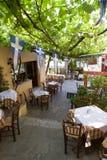 Restaurante pitoresco em Atenas Imagens de Stock Royalty Free