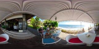 Restaurante por el mar vr360