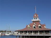 Restaurante por la bahía Fotografía de archivo