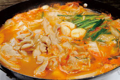 Restaurante quente japonês do potenciômetro fotos de stock royalty free